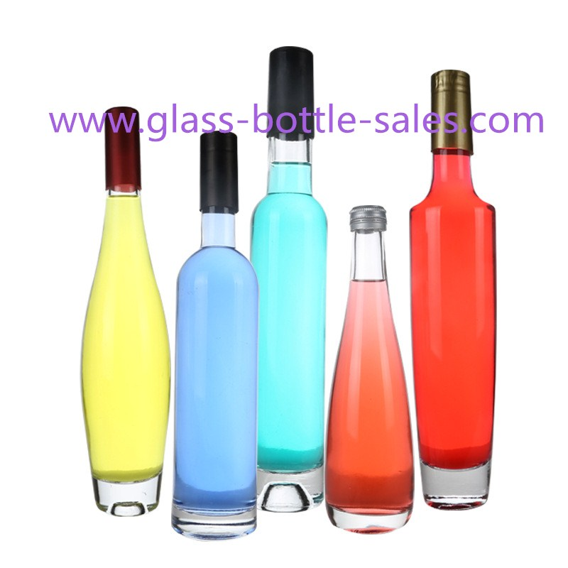 Hight Quality Clear ICE Wine Bottles With Thick Bottom