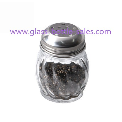 150ml Clear Spice Glass Jar With Lid